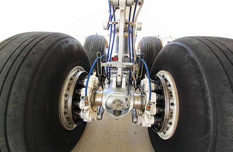 Aviation Translation Icon Airplane Wheels