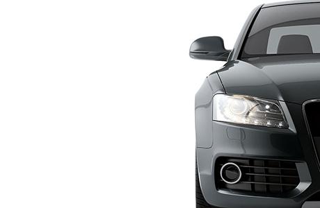 Automotive Grey Half Car With no Branding
