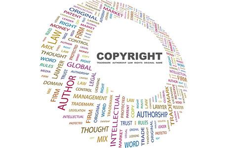 Copyright Translation Circle Symbol Words