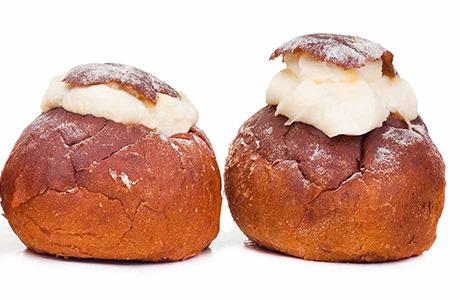 Estonian Bread with Mash Potatoes