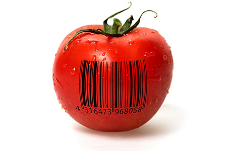 Bar Code Tomato Representing Export Translation Specialist