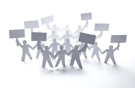 Goverment Translation Services Professional Paper Cutouts