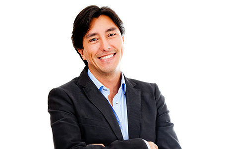 Guarani Translation Services Professional Suit Smiling