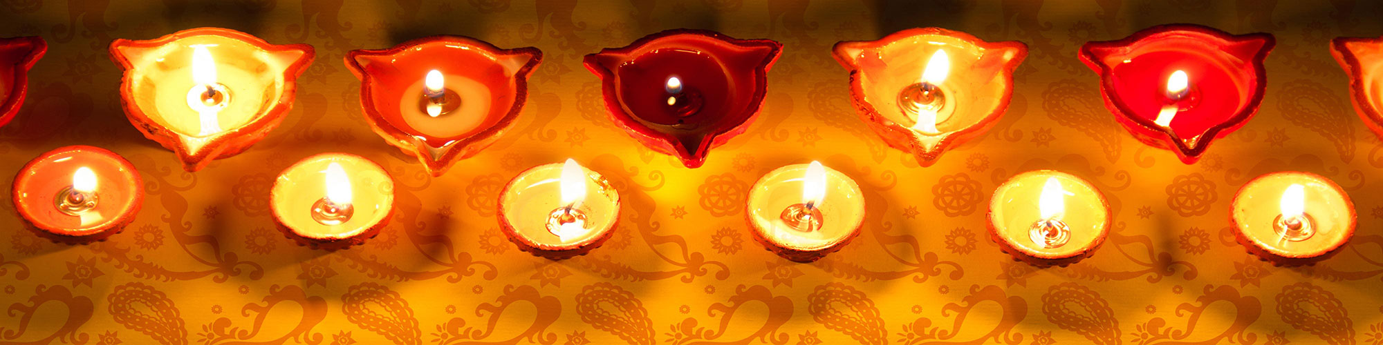 Kannada Indian Tea Lights Candles