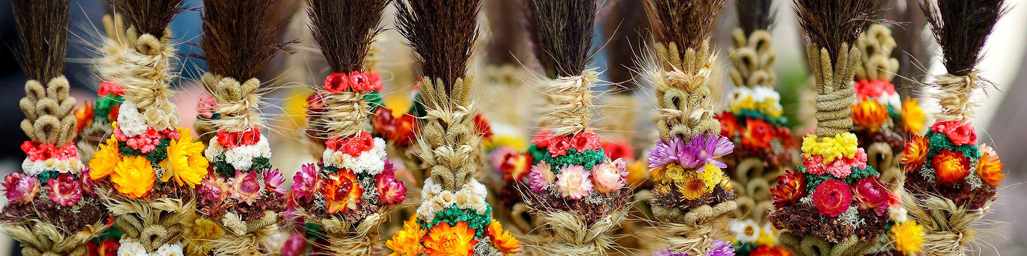 Lithuanian Traditional Dried Flower Bouquet