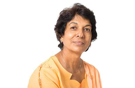 Marathi Translation Services Professional Portrait Photo on a White Background