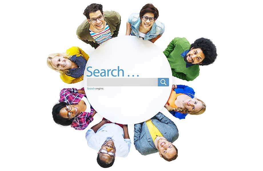 SEO Translators in a Circle