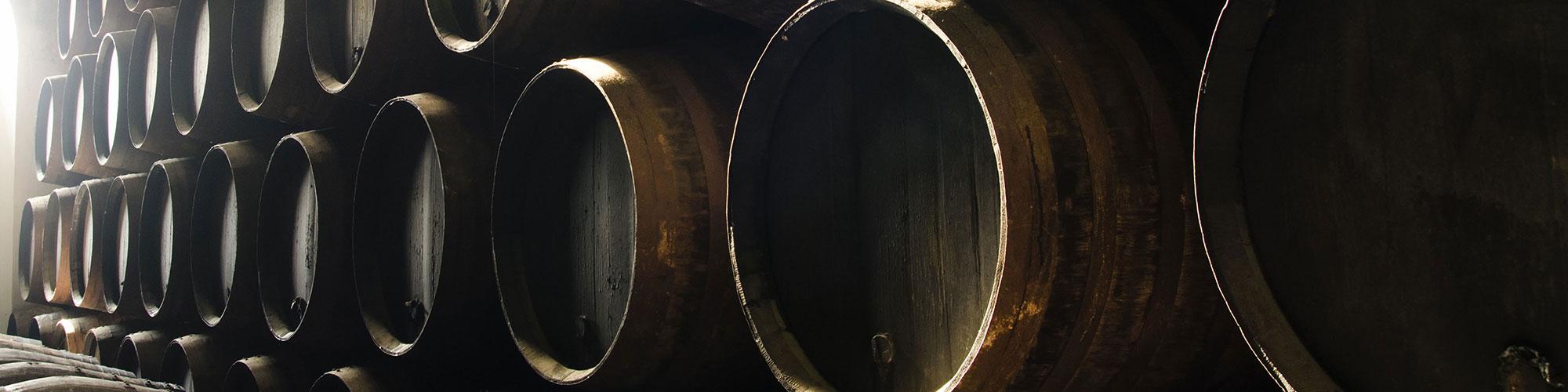 Scottish Whisky Wooden Barrels in Scotland