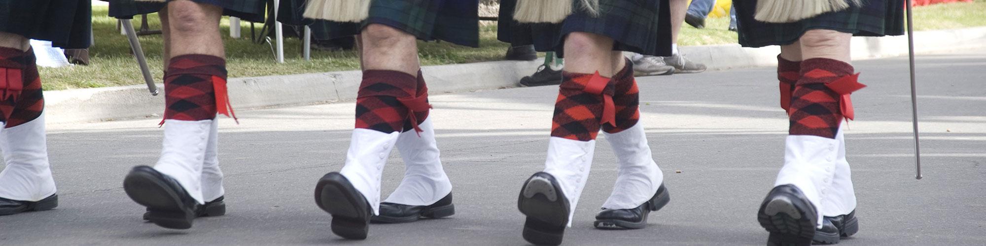 Scottish Gaelic Translators in Traditional Footwear