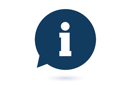Translation Travel Information Services Blue Icon