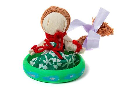 Ukrainian Professional Translator Traditional Doll