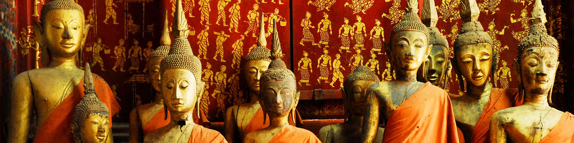 Lao Traditional Statues