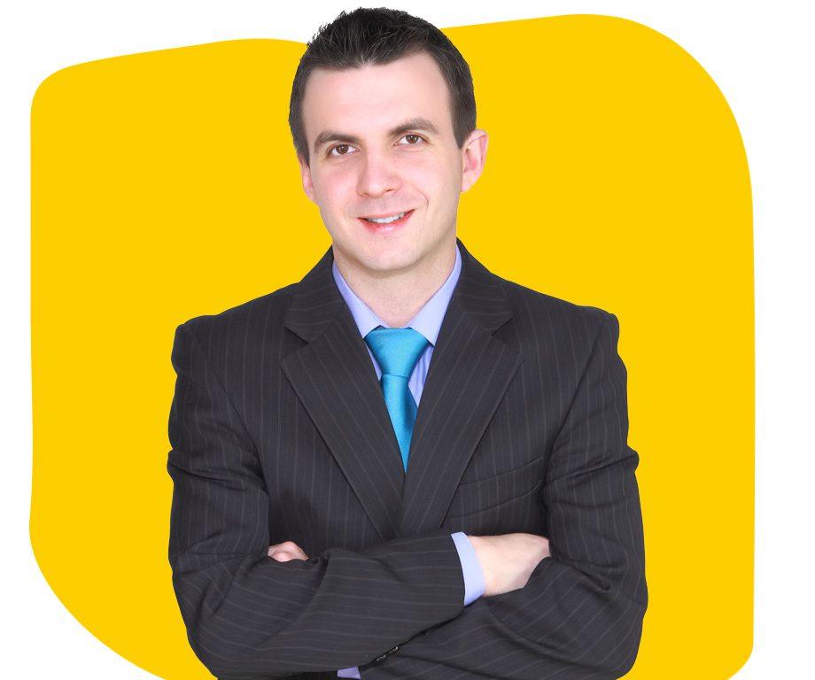 Albanian Professional Translator Folded Arms