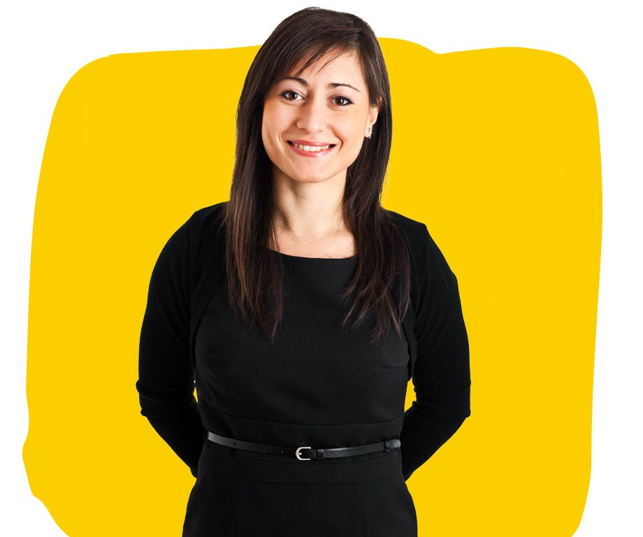 Bulgarian Translation Services Professional in Black Dress
