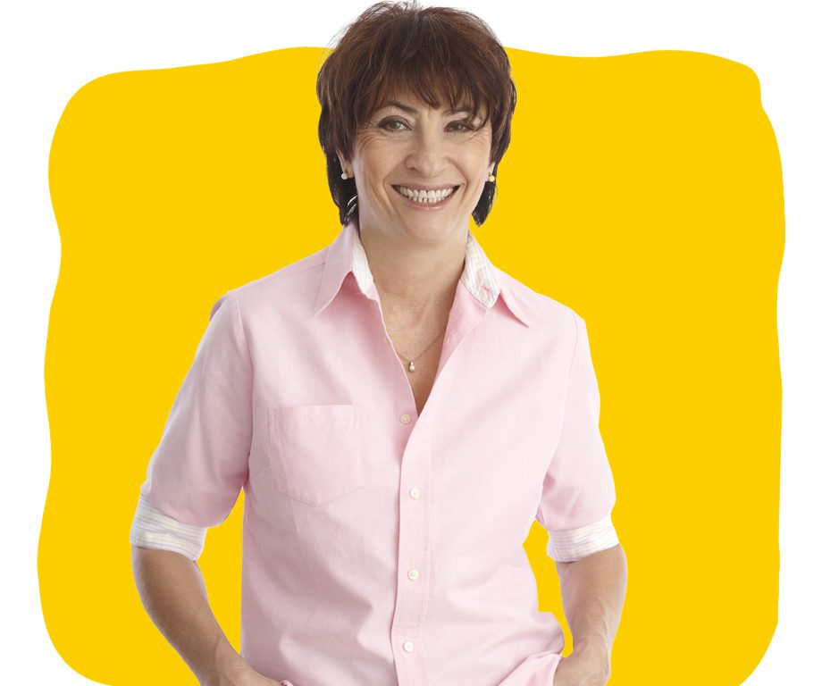 Croatian Translation Services Professional Smiling at Camera on yellow Background